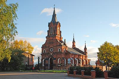 Владимир: Католический храм Святого Розария