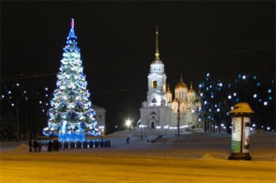 Владимир: Соборная площадь