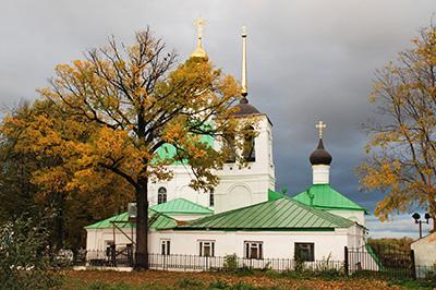 Владимир: Спасский холм и его церкви