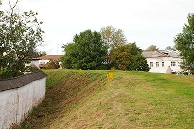 Юрьев-Польский: Городской крепостной вал