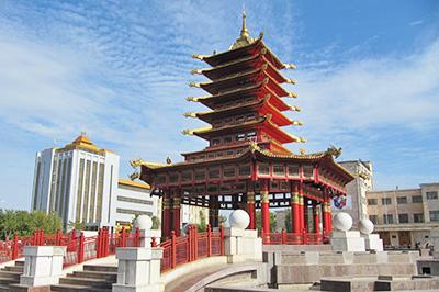 Элиста: Пагода Семи Дней