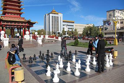 Элиста: Площадь Ленина