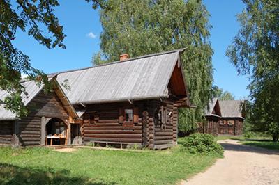Кострома: Музей деревянного зодчества Костромская слобода