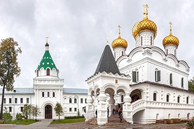 Кострома: Свято-Троицкий Ипатьевский монастырь