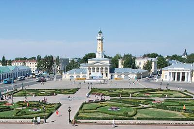 Кострома: Сусанинская площадь