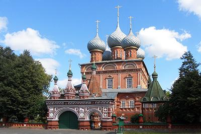 Кострома: Церковь Воскресения Христова на Дебре