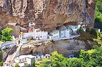 Бахчисарай: Свято-Успенский монастырь