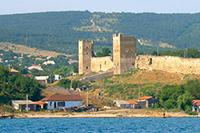 Феодосия: Генуэзская крепость Кафа