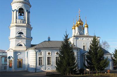 Коломна: Богоявленская церковь в Гончарах