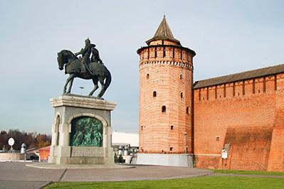 Коломна: Коломенская или Маринкина башня
