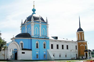 Коломна: Свято-Троицкий Ново-Голутвин монастырь
