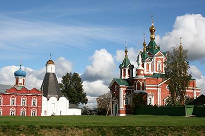 Коломна: Успенский Брусенский монастырь