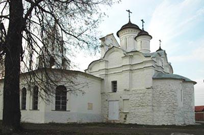 Коломна: Церковь Зачатия Иоанна Предтечи