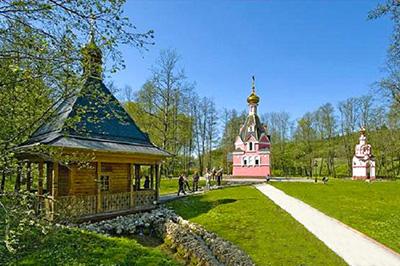 Чехов: Святой источник преподобного Давида в селе Талеж