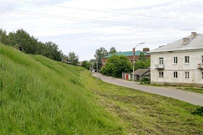 Переславль-Залесский: Городской крепостной вал