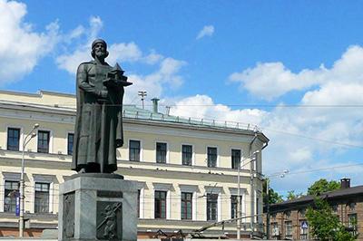Ярославль: Памятник Ярославу Мудрому