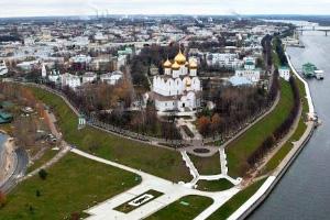 Ярославль: Стрелка и Рубленый город
