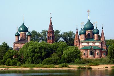 Ярославль: Храмовый комплекс в Коровниках