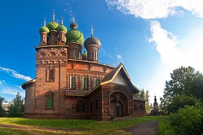Ярославль: Церковь Иоанна Предтечи в Толчкове