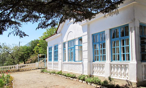 Алушта Музей Шмелева